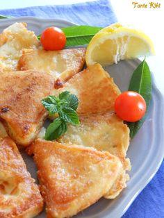Tante Kiki: Το υπέροχο Λαδοτύρι Μυτιλήνης... σαγανάκι με δύο τρόπους!