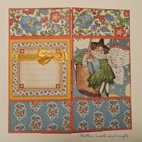 Hutton's arts and crafts neverending card Graphic45 Tutorial