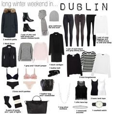A fashion look from January 2016 featuring L.Bennett cardigans, rag & bone t-s… A fashion look from January 2016 featuring L.Bennett cardigans, rag & bone t-shirts and La Garçonne Moderne tops. Browse and shop related looks. Travel Wardrobe, Capsule Wardrobe, Look Fashion, Winter Fashion, Womens Fashion, Minimale Kleidung, Travel Capsule, Winter Outfits, Winter Travel Outfit