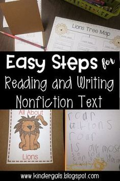 Easy steps for using a tree map to develop an informational piece of writing. Kids Learning Activities, Classroom Activities, Teaching Ideas, Classroom Ideas, Animal Activities, Kindergarten Freebies, Kindergarten Teachers, Guided Reading Lessons, Reading Anchor Charts