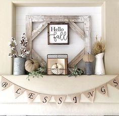 85 Best Pictures Stunning Fall Mantel Decor Ideas To Inspire You 1035 Fall Mantel Decorations, Thanksgiving Decorations, Seasonal Decor, Mantle Ideas, Fall Home Decor, Autumn Home, Autumn Mantel, Fall Mantels, Fall Fireplace