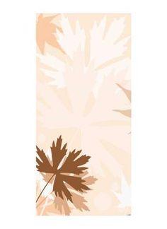 Herbstlicher Hintergrund Motivdruck Papier