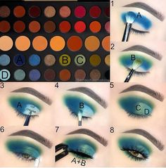 - YAY or NAY! I really like this palette? Double Tap if you ? this lo YAY or NAY! I really like this palette? Double Tap if you ? this look Morphe Brushes Dare To Create Eye Makeup Steps, Makeup Eye Looks, Makeup For Green Eyes, Cute Makeup, Creative Eye Makeup, Colorful Eye Makeup, Palette Morphe, Make Up Tutorial Contouring, Make Up Designs