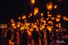 Sky Lantern Festival, Jiufen // Pingxi line, Taiwan CNY