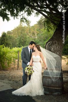 Jamaica and Michael at Elliston Vineyards Photo - YJM Photography