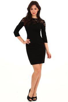 Black dress From brokeandchic.com