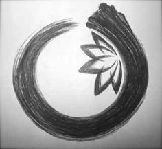 Welcome! This is us in a nutshell. Comer and learn about us and the miracle uses for activated charcoal =). very cool hand drawn enso circle with lotus flower inside
