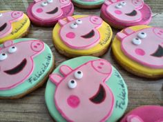 Galletas peppa pig