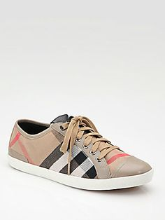 A #practical summer - #Burberry Vintage Sneakers (my go to sneakers!)