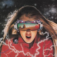 The Futuristic Age of Retro Sci-Fi Moda Cyberpunk, Arte Cyberpunk, Retro Kunst, Retro Art, The Game Book, Performance Artistique, 80s Sci Fi, Psy Art, 80s Aesthetic