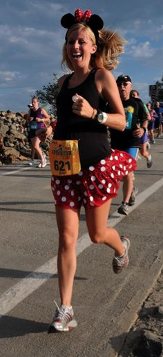 cute costume idea - Disney Princess Half Marathon
