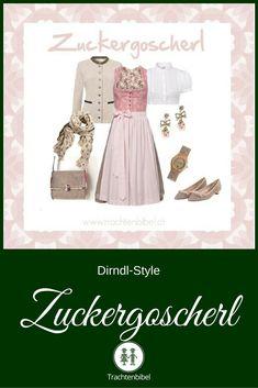 Ein Dirndl-Style in Rosa und Taupe für ein Zuckergoscherl. Dirndl von Julia Trentini mit tollen Accessoires kombiniert. Hier mehr erfahren!