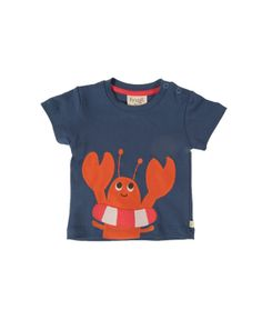 Baby Applique T-shirt - Organic Clothes By Frugi @Fran Oliver You have outdone yourselves - what an amazing new season collection!