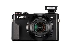 Amazon.com : Canon PowerShot G7 X Mark II Digital Camera w/ 1 Inch Sensor and tilt LCD screen - Wi-Fi & NFC Enabled (Black) : Camera & Photo