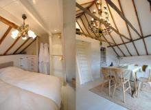 Vakantiehuisjes De Jonge Stee, Vierhouten  (4-6 personen) erg mooi ingericht met ruime tuin en mini-kuuroord met sauna en behandelingen