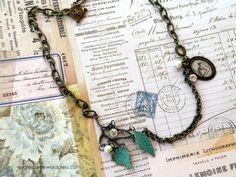The Patina Leaves Set with Tim Holtz Assemblage – Audrey Pettit Designs