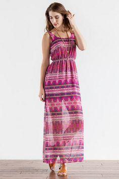 Johanna printed maxi dress from Francescas