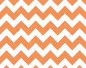 Medium Chevron in Orange: sku C320-60 cotton quilting fabric by Riley Blake Designs - 1 yard