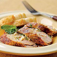 Mojito Pork Tenderloin