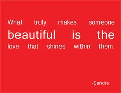 What Makes You Beautiful by Sandra What Makes U Beautiful, Be Yourself Quotes, Make It Yourself, Cute Quotes, Favorite Quotes, Bible Verses, Inspirational Quotes, Wisdom, Positivity