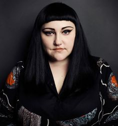 Gossip-ing with Beth Ditto — fashion muse, gay icon and musical heroine Beth Ditto, Graphic Eyeliner, Hipster Man, Janis Joplin, New York Post, Female Portrait, American Singers, Art Music, Style Icons
