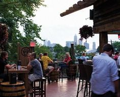 "Whiskey Warehouse:  great food and service, large selection of whiskey & beer (also offer whiskey flights), awesome rooftop patio called ""Top Shelf""!  In Plaza Midwood"