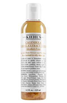 Kiehl's Since 1851 Calendula Herbal-Extract Alcohol-Free Toner available at…