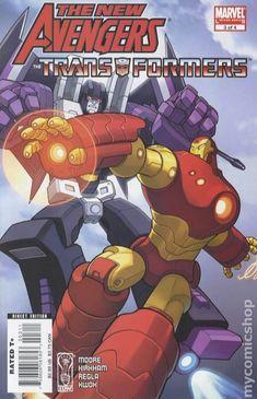 New Avengers Transformers (2007) 3