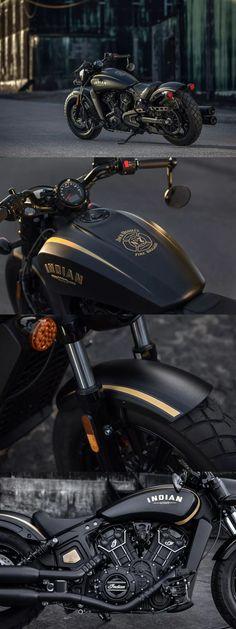 Indian-Scout-Bobber-Jack-Daniels-Edition motorcycles and scooter Model: Power, Mileage, Safety, Colors Brat Bike, Bobber Motorcycle, Moto Bike, Cool Motorcycles, Motorcycle Style, Indian Motorcycles, Harley Davidson, Bobbers, Bullet Bike Royal Enfield