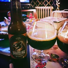 Smooth low-carbonation with a nice oaky finish - Dragon's Milk by @newhollandbrew  #newhollandbrew #dragonsmilk #imperialstout #craftbeer
