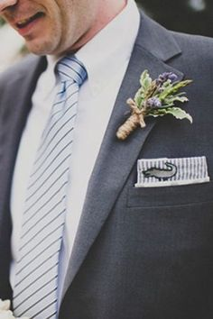 We are loving this menswear look! via Southern Weddings