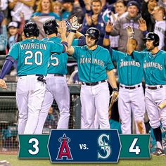 #Mariners keep playoff hopes alive with series-opening win over Angels. 9/26/14