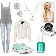 """""""Everyday Outfit #6"""" by jordan-fox on Polyvore"""