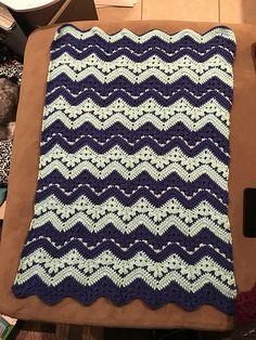 6-Day Kid Blanket – free pattern #crochet