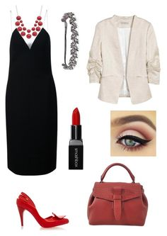 """Bal de promo"" by maureen-meslin on Polyvore featuring mode, Melissa, Alexander Wang, Lancel, Deepa Gurnani et Smashbox"