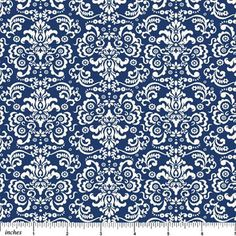 Belle Provence, Navy by Deborah Edwards, Northcott Studio