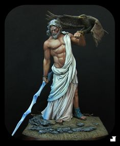 Zeus, God of Gods painted by ZabaLukas