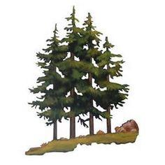 Pine Tree Art - Bing Images