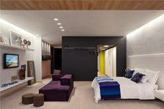 Dormitório de casal cadeirante