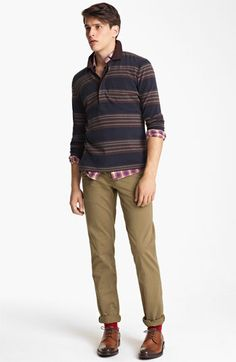 Billy Reid Rugby Polo, Shirt & Chinos | Nordstrom