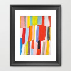 Library Framed Art Print by Emily Rickard - $32.00
