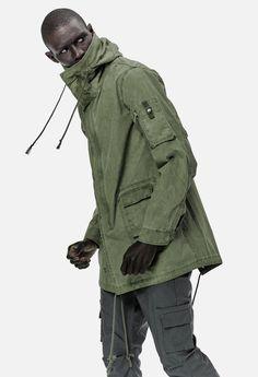 Military Raincoat / Olive