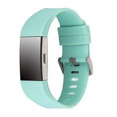 Amazon.com: Charge 2 Band Replacement,Classic Silicone Band Accessories Adjustable Strap For Fitbit Charge 2 Heart Rate Fitness Wristband (Gray): Sports & Outdoors