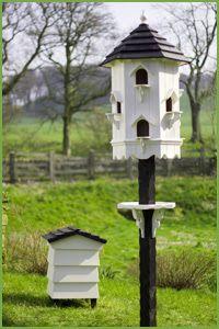 Mis amigas las palomas: Palomar de jardín