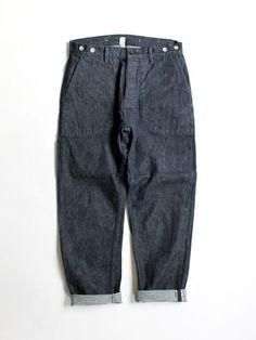 Kato' Denim Baker Pants