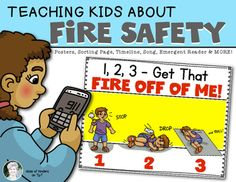 Teaching Fire Safety for Kindergarten and First Grade Social Studies. $