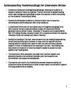 Example And Illustration Essay Topics Literature Circles For Middle School Common Core Aligned Prose Essay Definition also Property Law Essay Thegiverpersuasiveessay By Debra Spangler Via Slideshare  Th  Harrison Bergeron Essay Questions