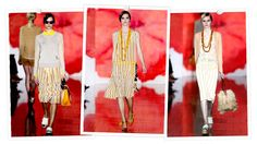 Yellow, Yellow, Yellow! So many ways to wear it, from details on a cardigan to long statement necklaces.