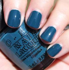 Ski Teal We Drop- I love this color. Very cool, very teal, very New YOrk. I like this in the winter on my toes and in the summer on my hands. It's still a different color, but because its so dark, its a littles less threatening than a bright blue might be.