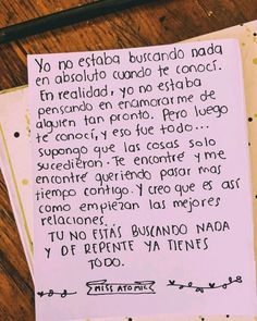 Cartas y frases para enamorar Amor Quotes, Love Quotes, Inspirational Quotes, Poetry Quotes, Motivational, Love Phrases, Love Words, Love Text, Frases Tumblr